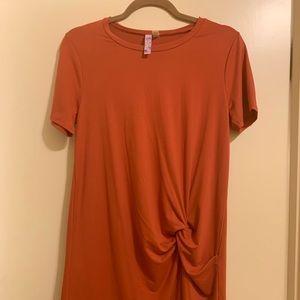 Alya NEW burnt orange t shirt dress